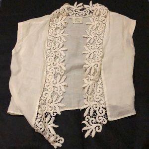 Flowery vest